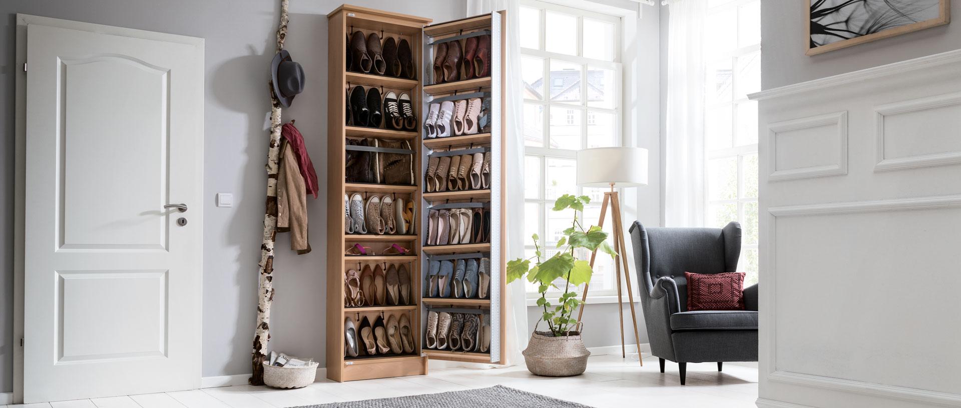 willkommen bei schuhbutler dem perfekten schuhschrank. Black Bedroom Furniture Sets. Home Design Ideas